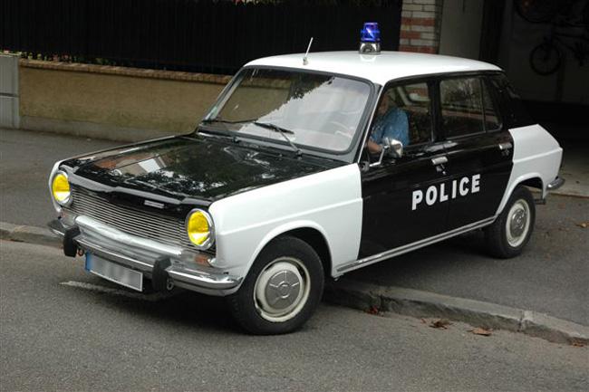 La Simca 1100 Police