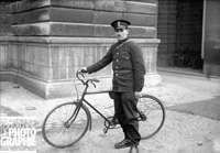 Agent cycliste Paris