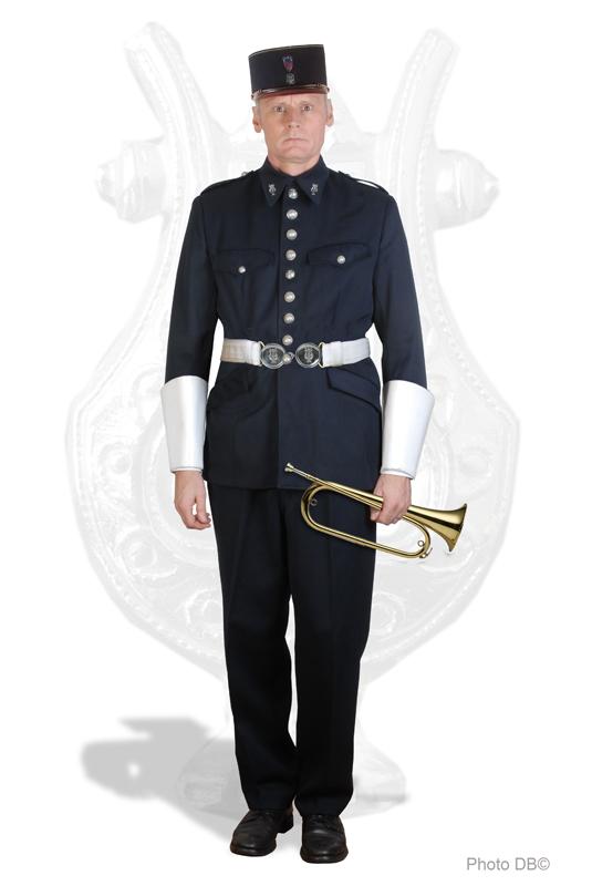 tenue musique des gardiens de la paix de la prefecture de police